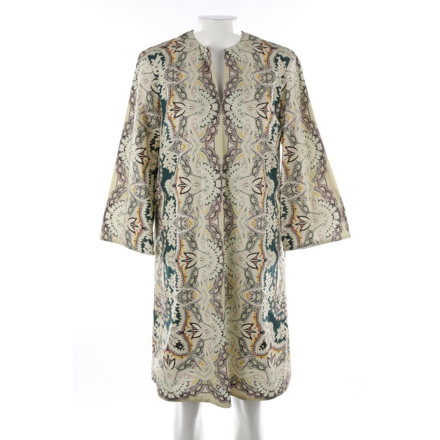 dress from Etro in beige and green size 38 IT 44