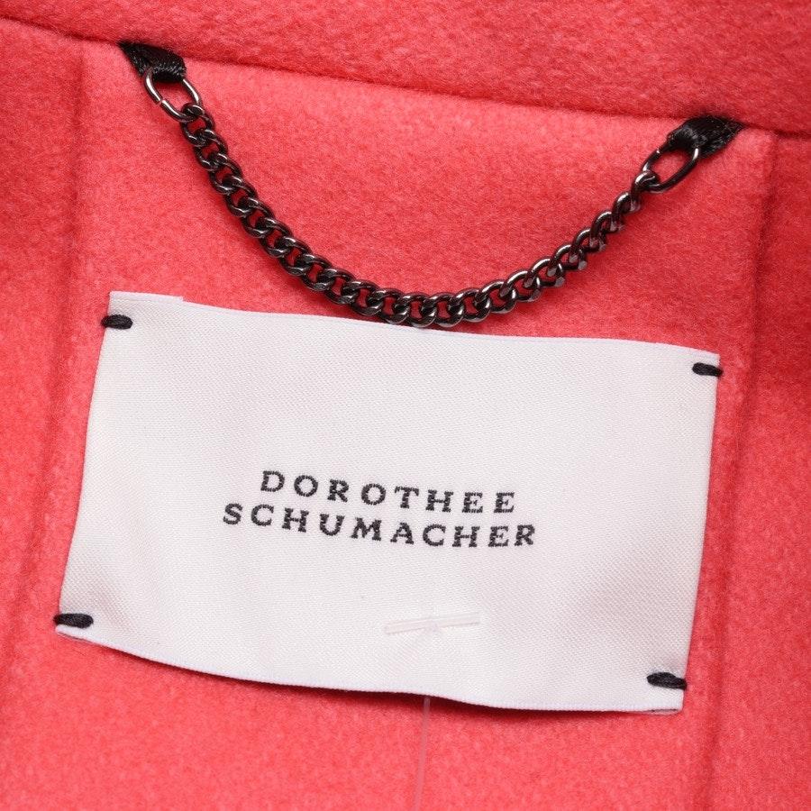 Übergangsjacke von Dorothee Schumacher in Lachsrosa Gr. 36 / 2