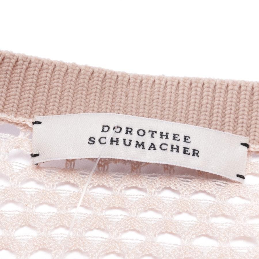 Feinstrickjacke von Dorothee Schumacher in Zartrosa Gr. 34 / 1