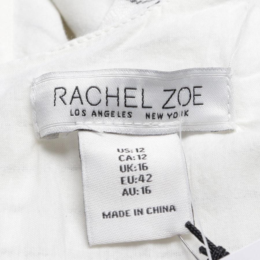 Jumpsuit von Rachel Zoe in Weiß und Schwarz Gr. 42 - Neu