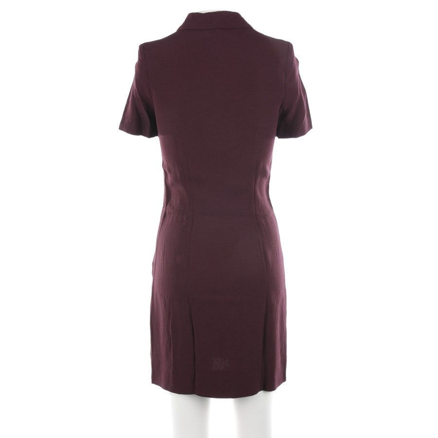 Blusenkleid von Victoria Beckham in Bordeaux Gr. 32 UK 6
