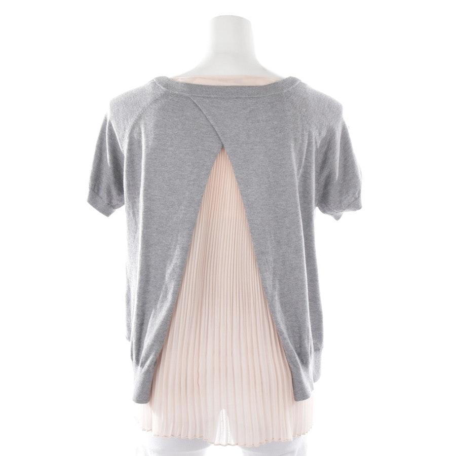 Shirt von Patrizia Pepe in Grau und Rosa Gr. 34 / 1