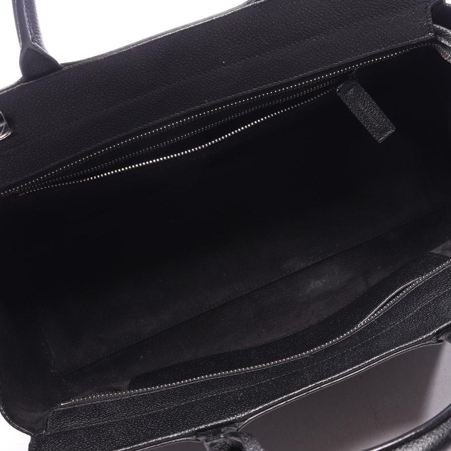 Handtasche von Saint Laurent in Schwarz - Cabas Rive Gauche