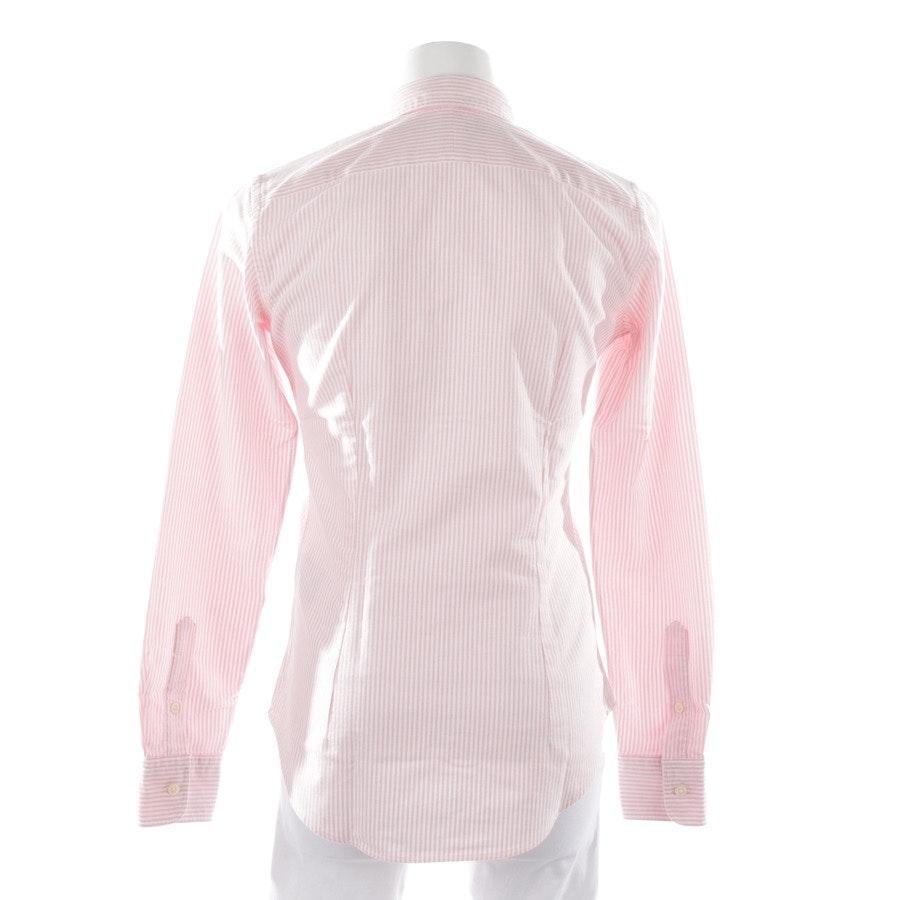 Bluse von Polo Ralph Lauren in Rosa und Weiß Gr. 32 US 2