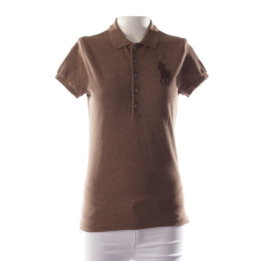 Shirt von Polo Ralph Lauren in Braun meliert Gr. S