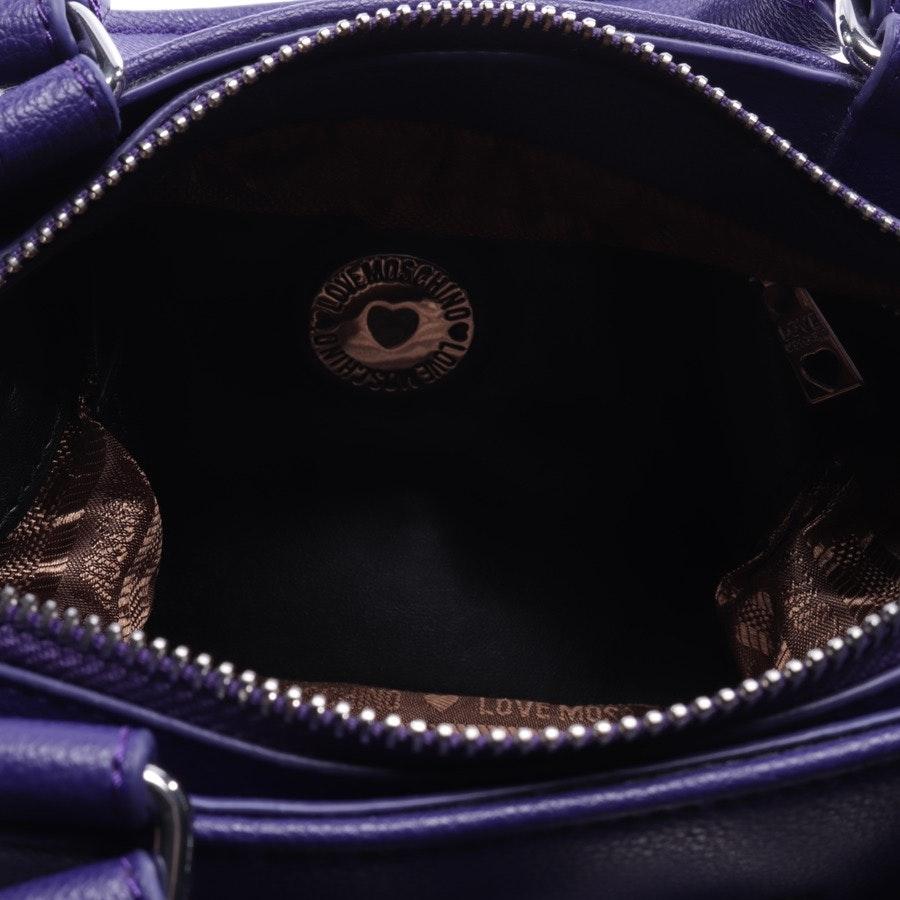Handtasche von Love Moschino in Violett und Silber