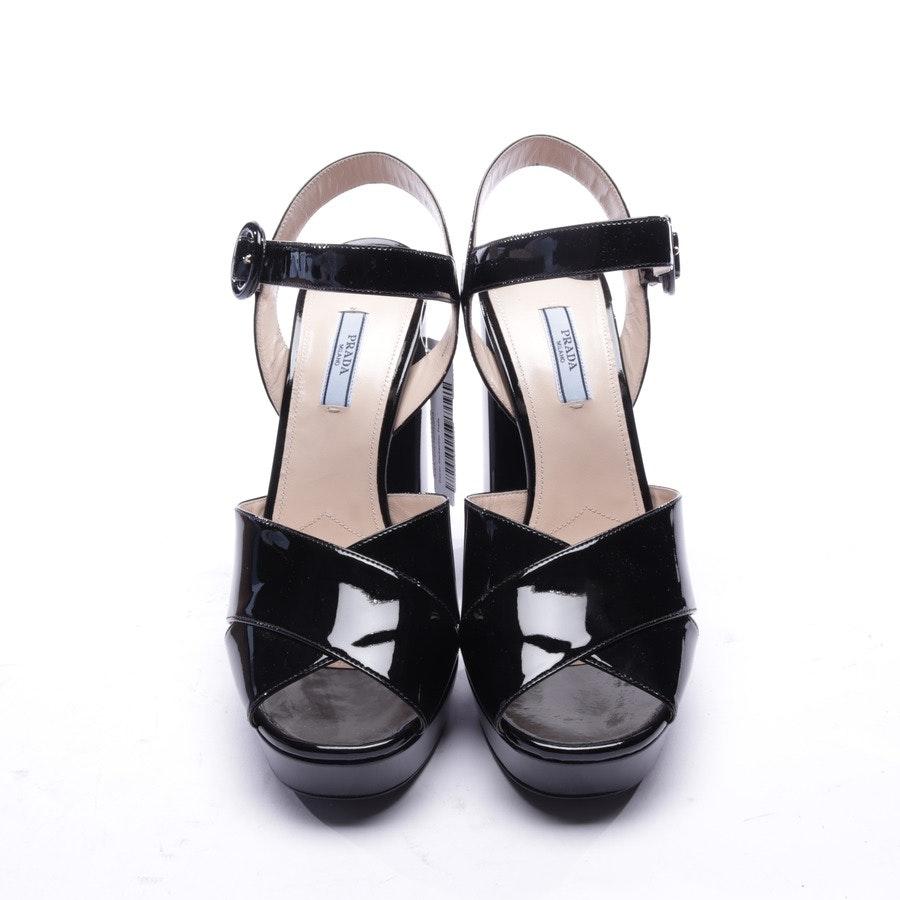 Sandaletten von Prada in Schwarz Gr. EUR 40 - Neu