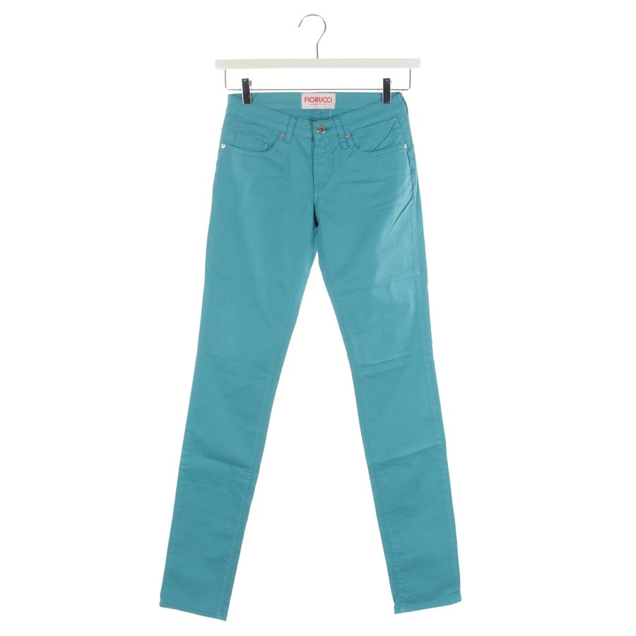 jeans from Fiorucci in turquoise size W25 - new