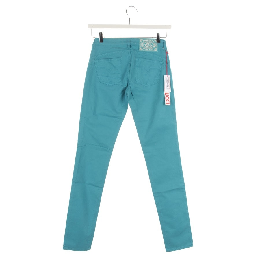 Jeans von Fiorucci in Türkis Gr. W25 - NEU