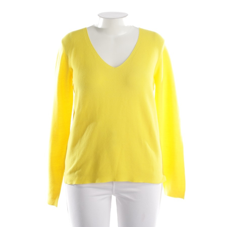 knitwear from Rich & Royal in sun-yellow size L