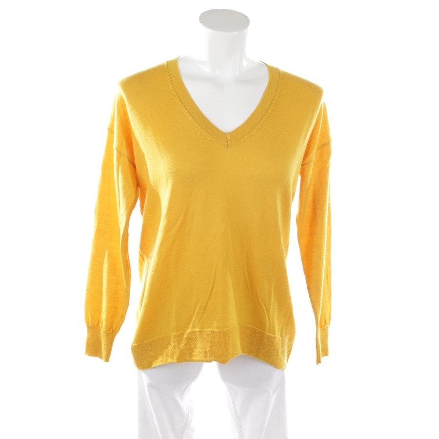 Wollpullover von Mrs & Hugs in Gelb Gr. M