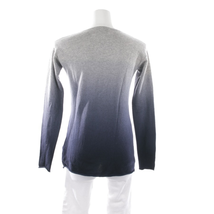 knitwear from Allude in grey and blue size S