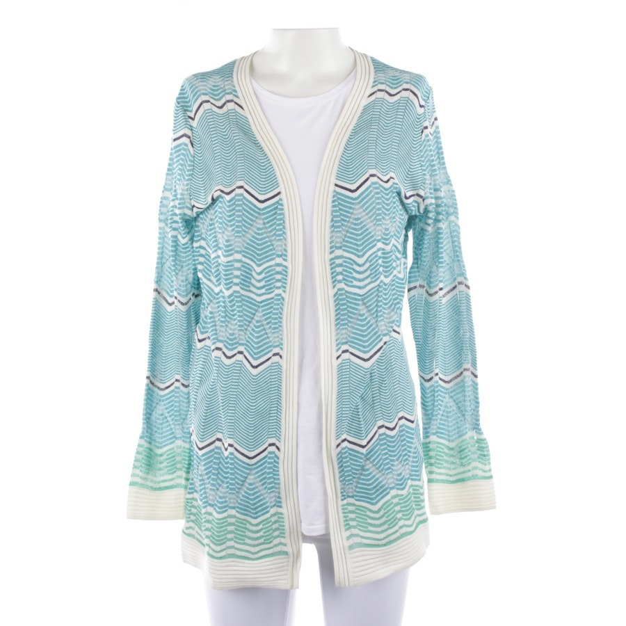 knitwear from Missoni M in turquoise and white size 36 IT 42