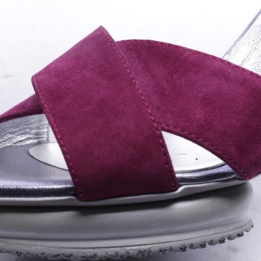Sandaletten von Hogan in Graublau und Lila Gr. EUR 39,5 - Neu