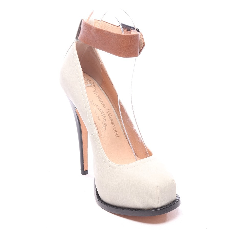 pumps from Vivienne Westwood Anglomania in offwhite size EUR 36 - new
