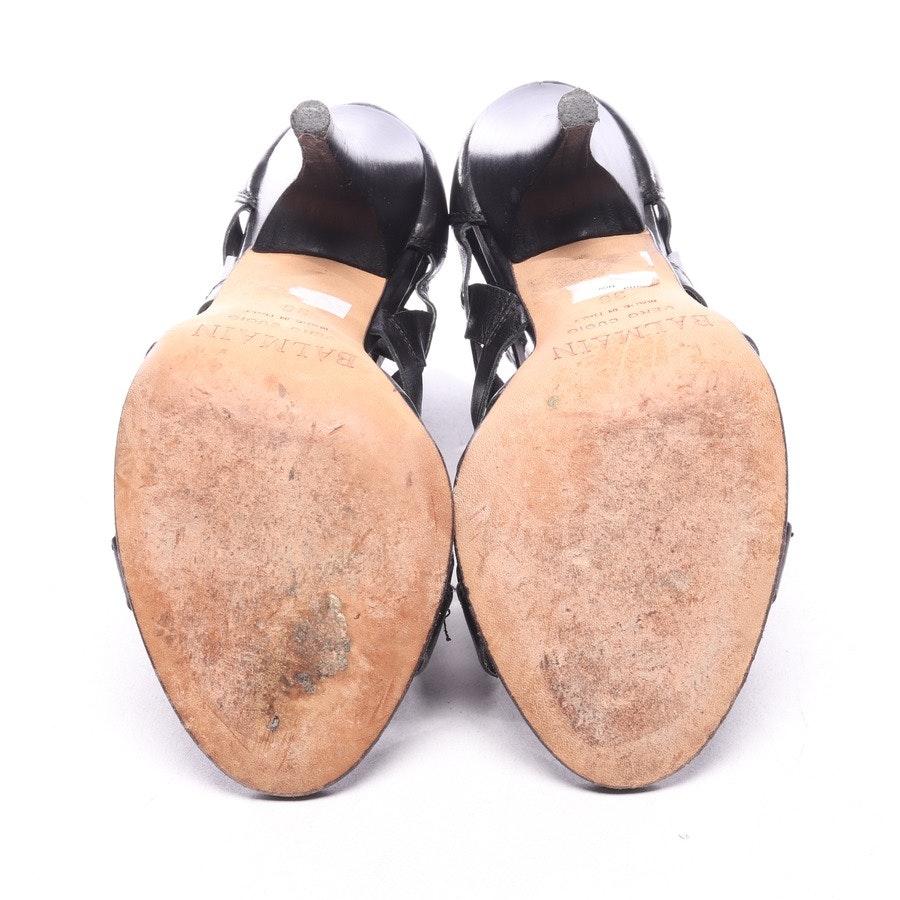 Sandaletten von Balmain in Schwarz Gr. EUR 36