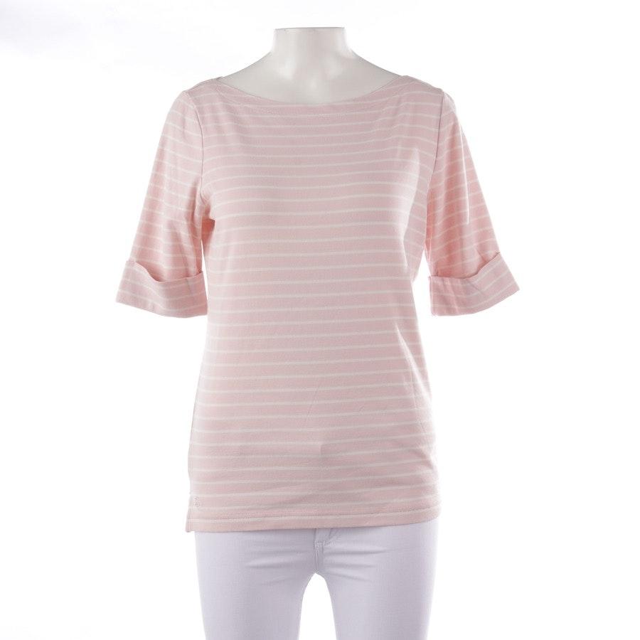 Shirt von Lauren Ralph Lauren in Zartrosa und Weiß Gr. L