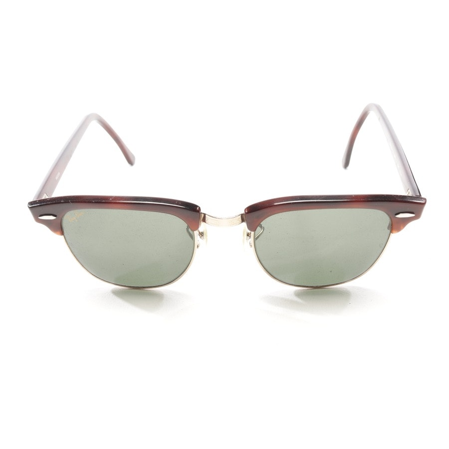 sunglasses from Ray Ban in red-brown and gold - new clubmaster