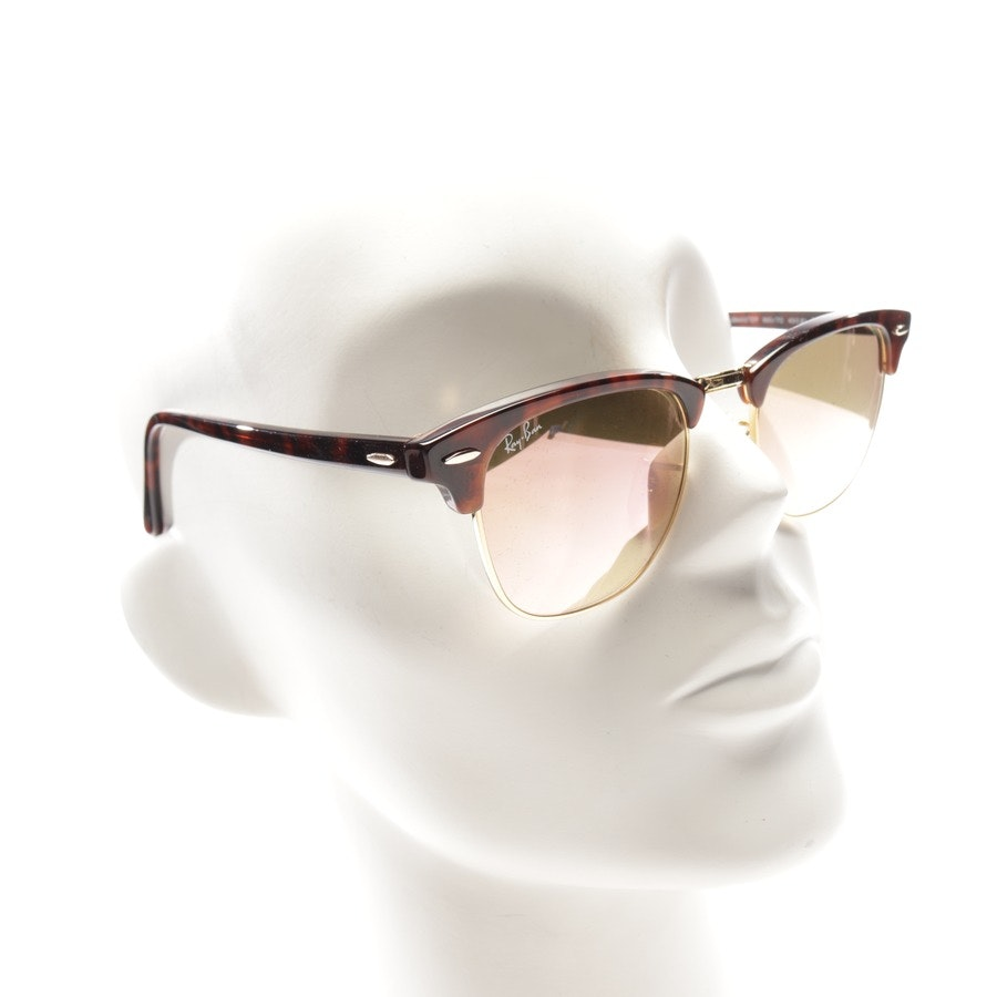 sunglasses from Ray Ban in brown - rb 3016 clubmaster - new