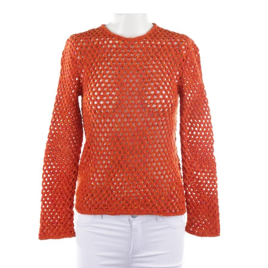 Strickpullover von Valentino in Orange Gr. M