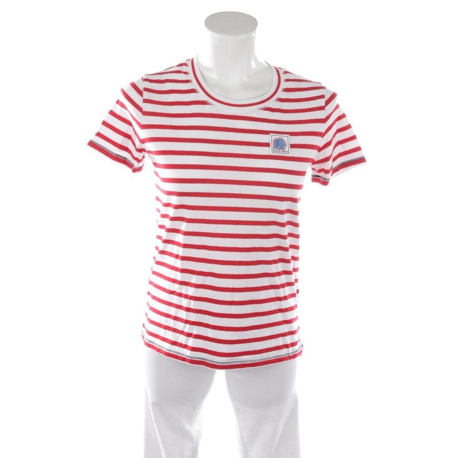 Shirt von Tommy Hilfiger in Weiß und Rot Gr. XS