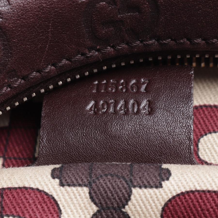 Schultertasche von Gucci in Schokobraun - Hobo Horsebit