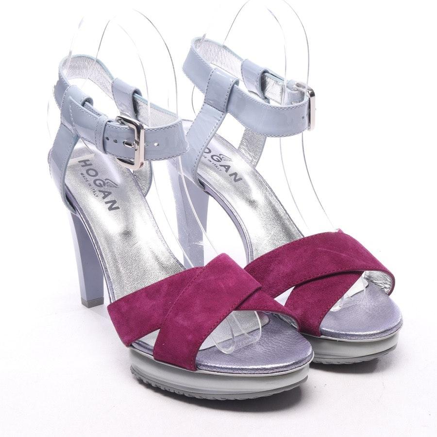 Sandaletten von Hogan in Graublau und Lila Gr. EUR 37,5 - Neu