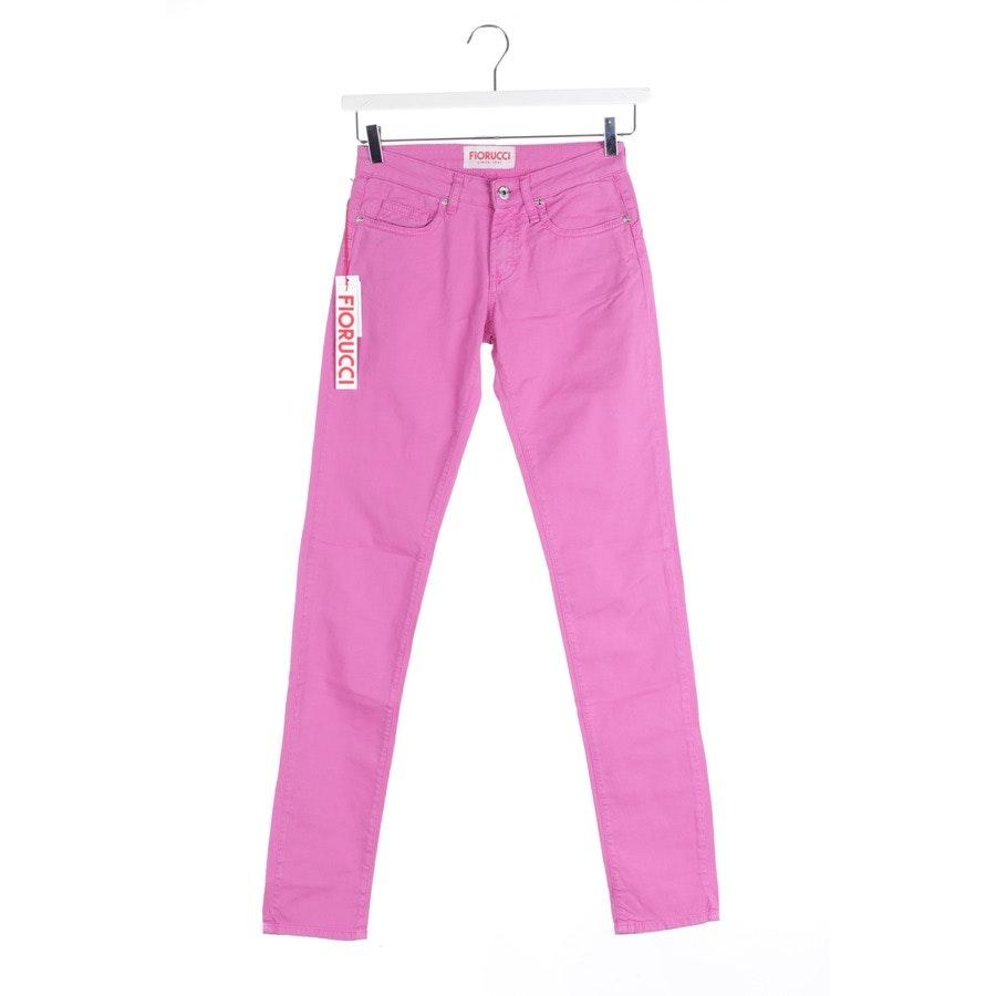 Jeans von Fiorucci in Magenta Gr. W25 - Push Up - Neu