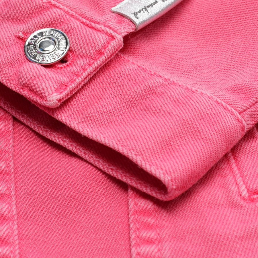 Jeansjacke von 7 for all mankind in Rosa Gr. M