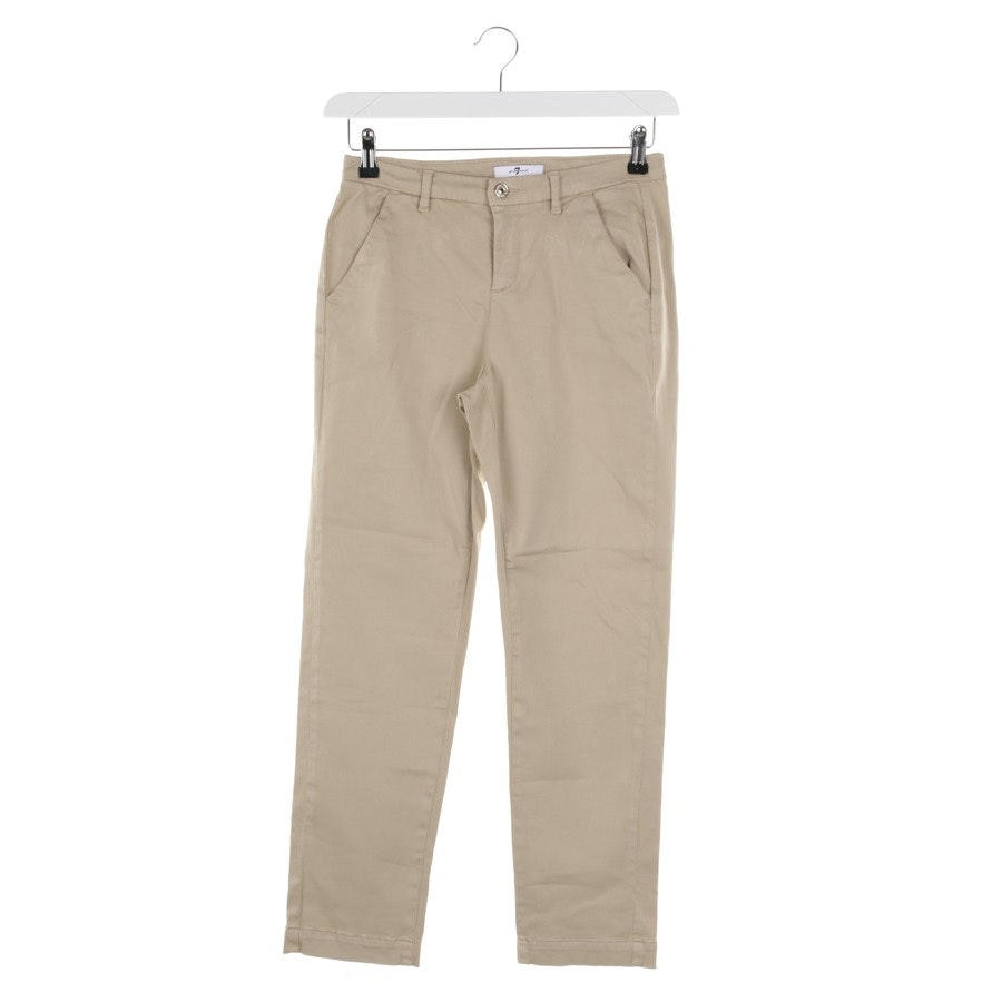 trousers from 7 for all mankind in beige size W26