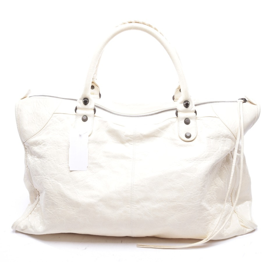 handbag from Balenciaga in cream - work