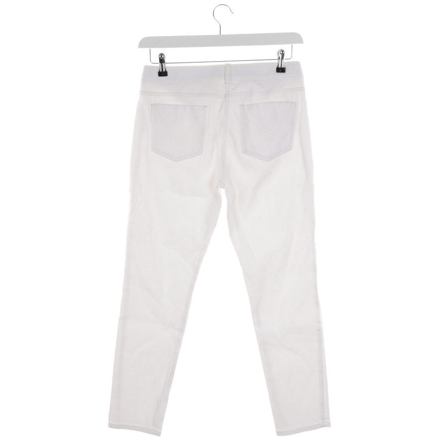 Jeans von Max Mara in Weiß Gr. W38