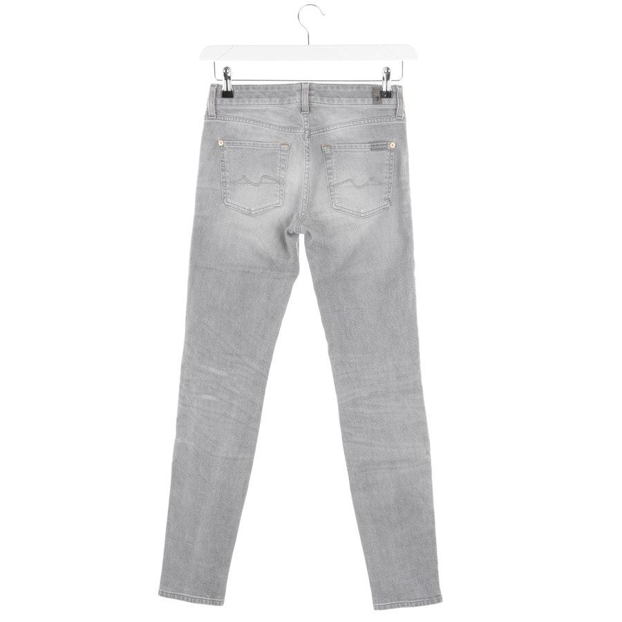 Jeans von 7 for all mankind in Hellgrau Gr. W27