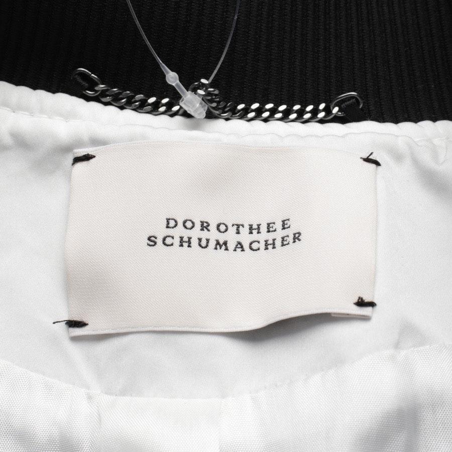 Übergangsjacke von Dorothee Schumacher in Schwarz und Weiß Gr. 36 / 2