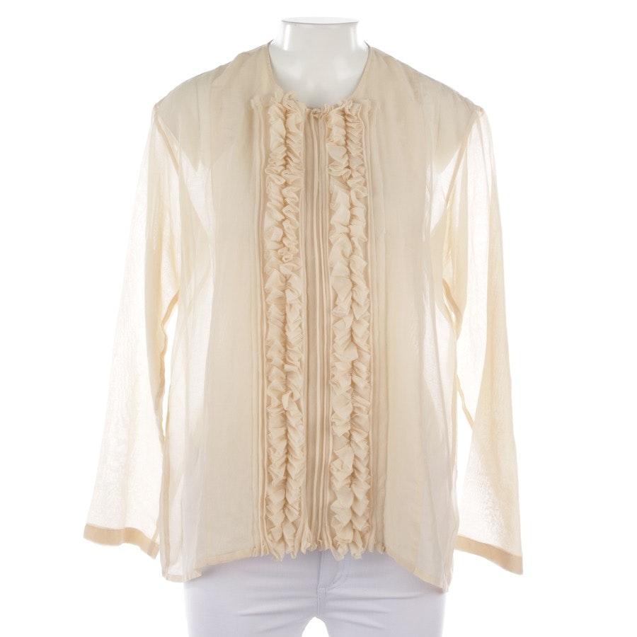 Bluse von Lareida in Creme Gr. 36
