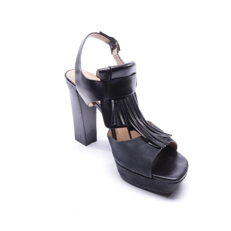Sandaletten von Tod´s in Schwarz Gr. EUR 37,5