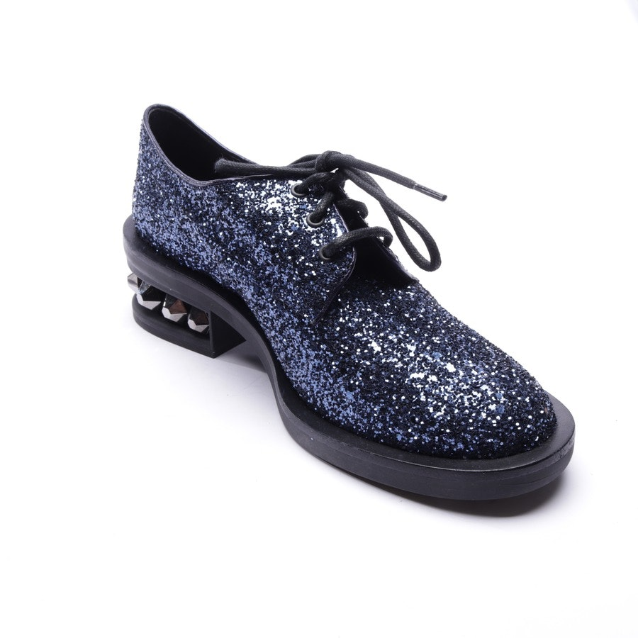 loafers from Nicholas Kirkwood in blue size EUR 37,5