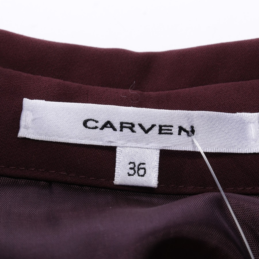 dress from Carven in bordeaux and blue size 34 FR 36