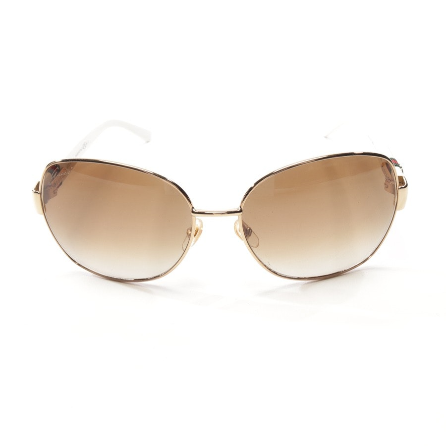 sunglasses from Gucci in gold and white - gg 4242/s