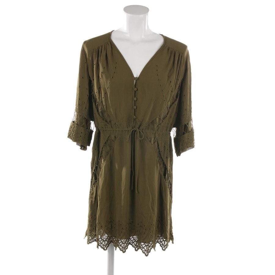 Kleid von Iro in Khaki Gr. 32 FR 34