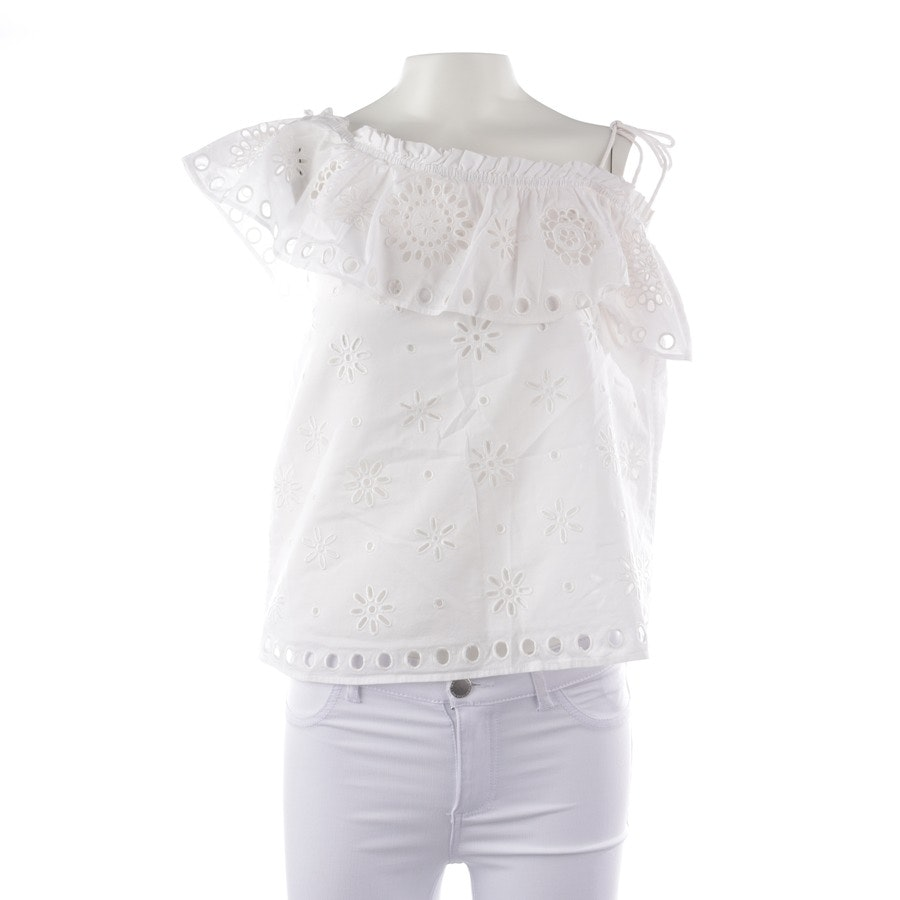 Blusenshirt von Red Valentino in Weiß Gr. 36 IT 42