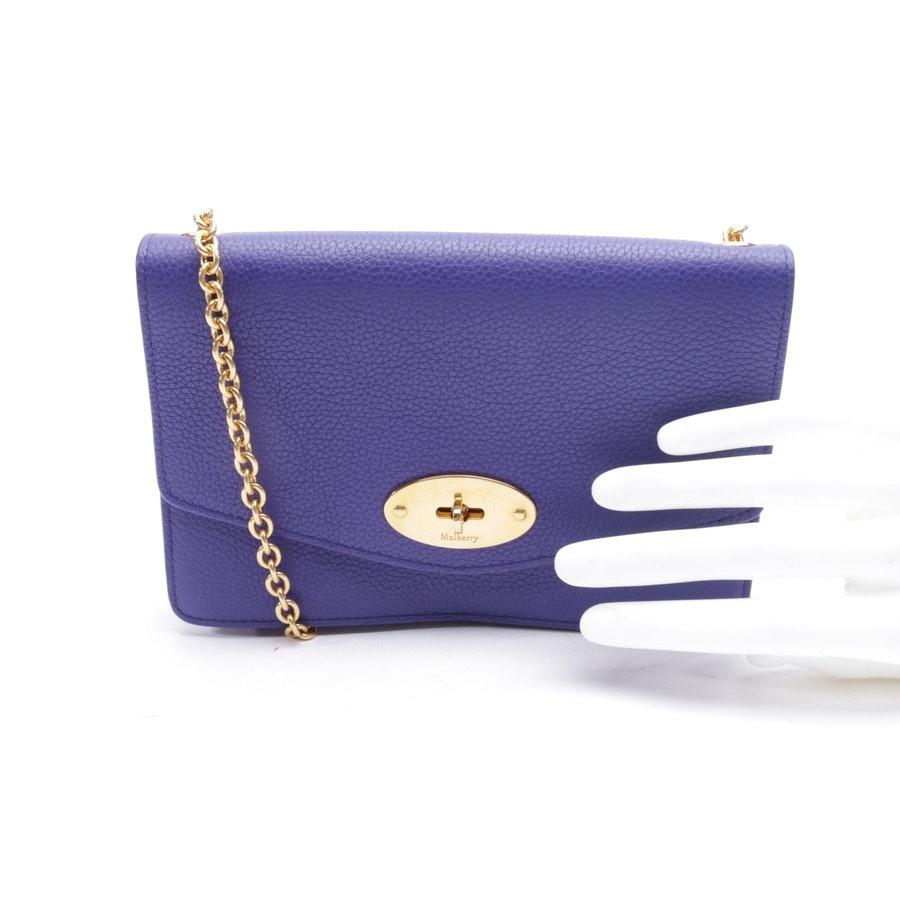 Abendtasche von Mulberry in Violett - Small Darley