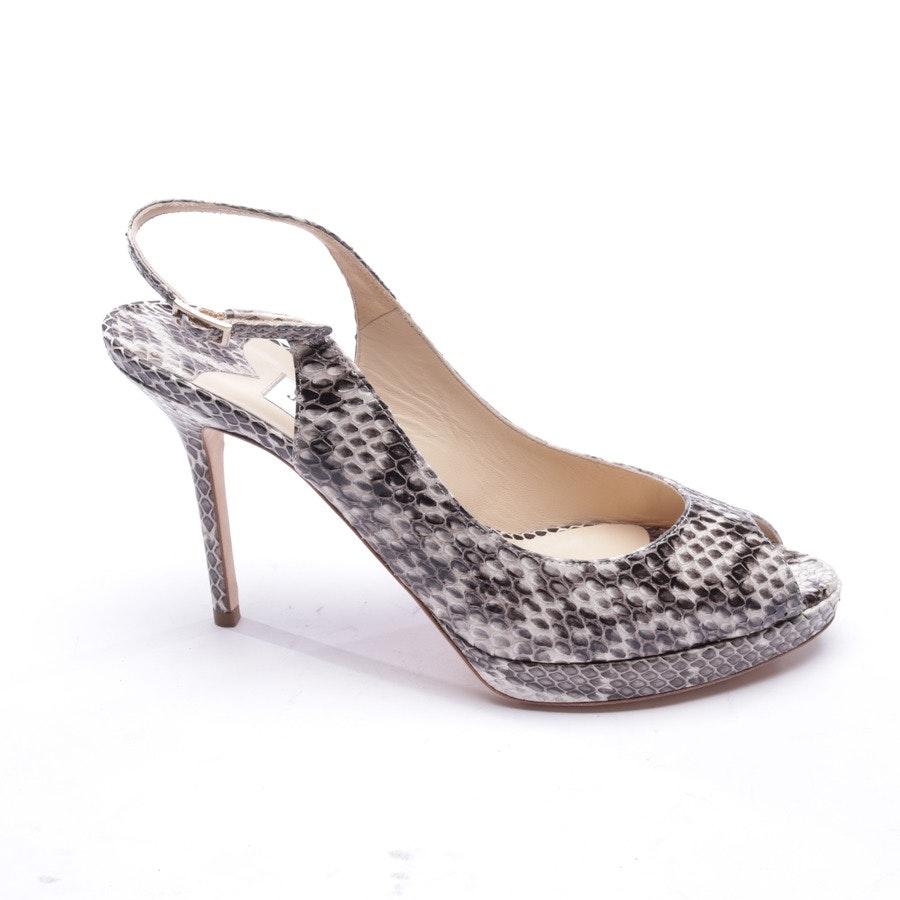 Sandaletten von Jimmy Choo in Beige und Braun Gr. EUR 38,5 - Neu