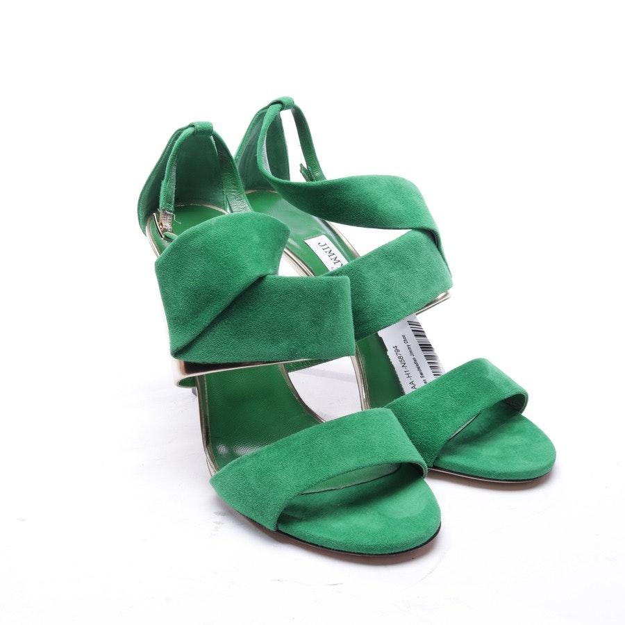 Sandaletten von Jimmy Choo in Grün Gr. EUR 38,5 - Neu