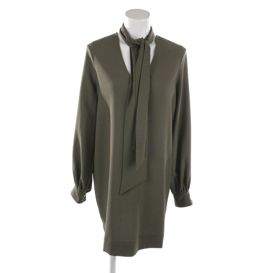 Kleid von Ganni in Dunkelgrün Gr. 34 FR 36
