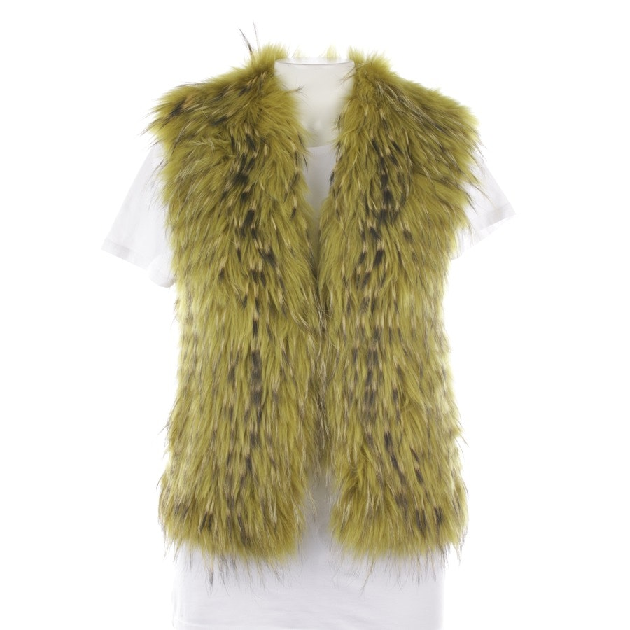waistcoat from Schumacher in lime green and black size 36 / 2