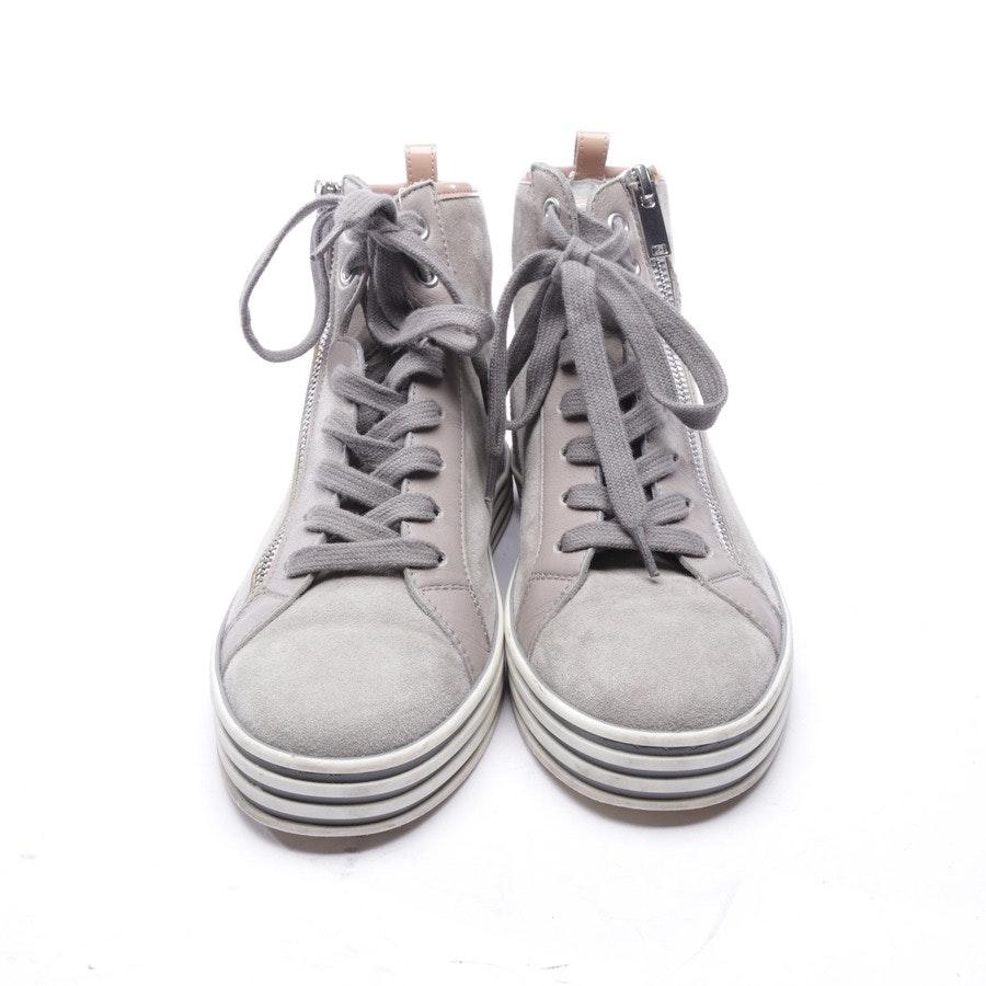 High-Top Sneaker von Hogan Rebel in Grau und Rosa Gr. EUR 36