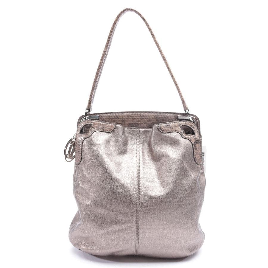 shoulder bag from Cartier in brown