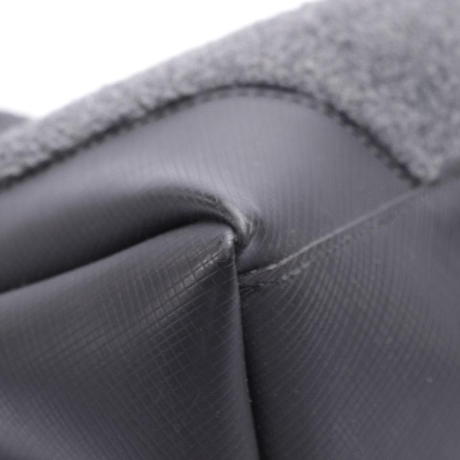 Handtasche von Gianni Chiarini in Schwarz und Grau