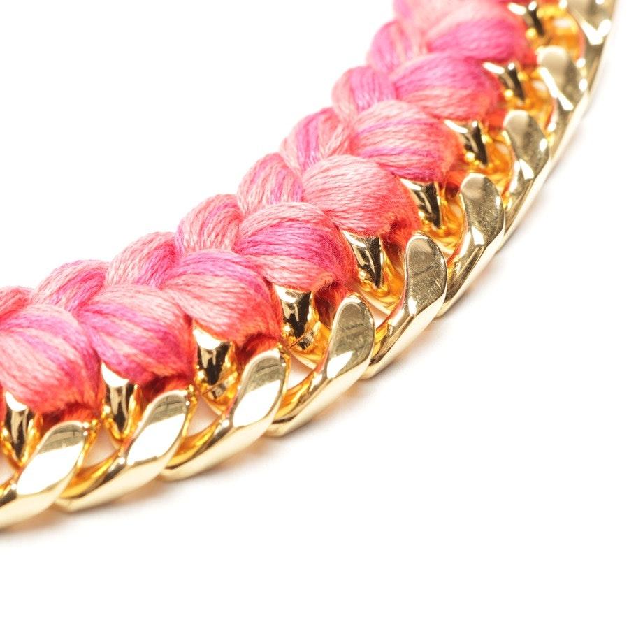 Kette von Aurélie Bidermann in Pink und Gold - Do Brasil - Neu